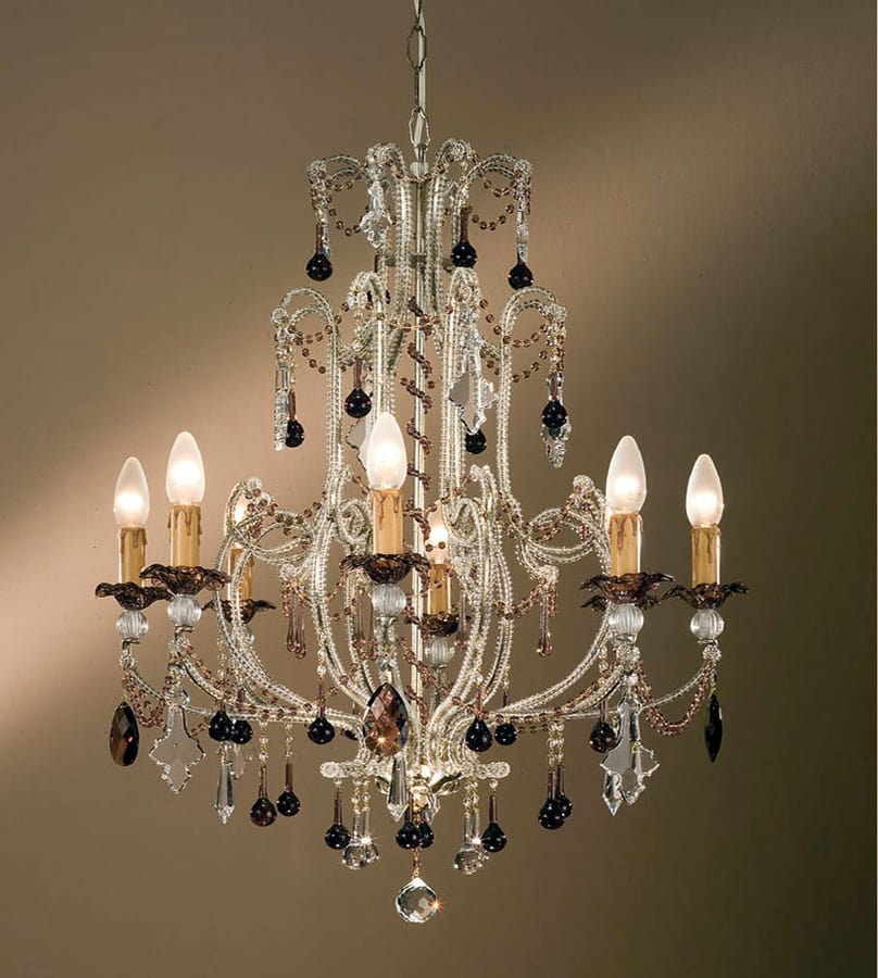 L.7220/8, Classic chandelier with pendants