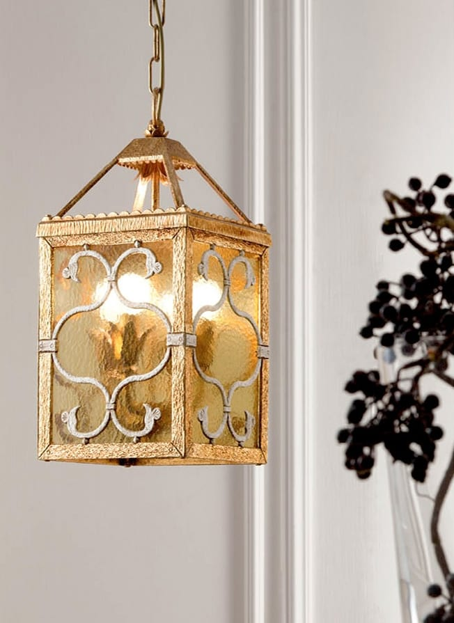 L.8210/4, Chandelier in the shape of a square lantern