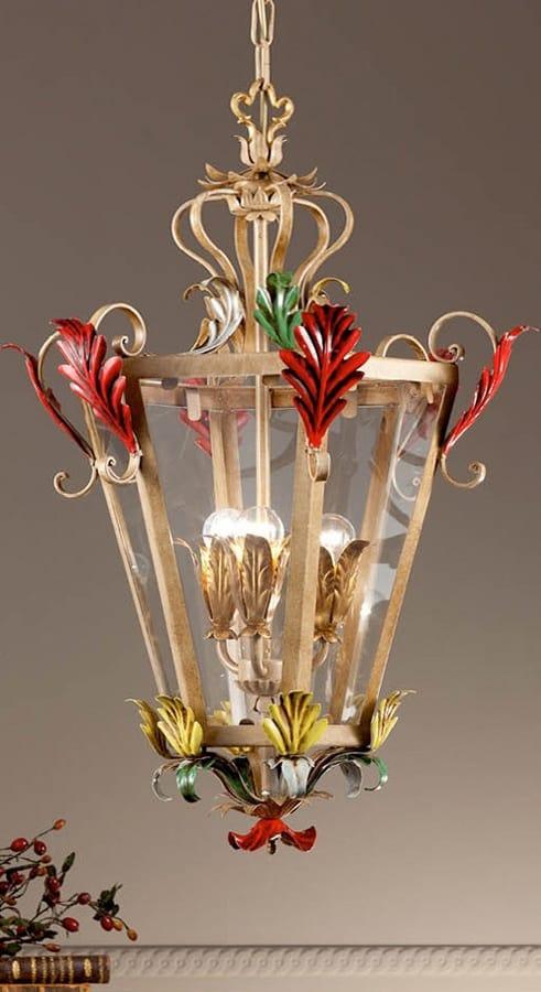 L.8345/3, Chandelier in the shape of a lantern