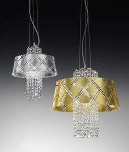 MEDUSA Ø 30/40, Pendant lamp with crystal pendants