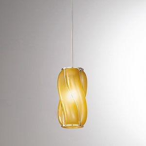 Orione Rs385-020, Suspension lamp with sinuous lines