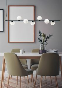 Pom�, Suspension lamp with 7 lights