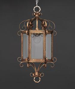 RICCIOLINI HL1109CH-1, Hexagonal iron lantern