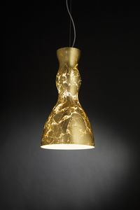 SCHERZO � 25, Pendant lamp in blown glass