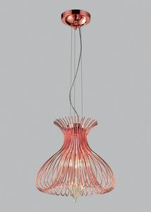 SILHOUETTE � 40, Suspension lamp with Murano blown glass