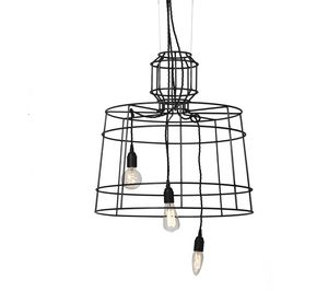Sisma SE112, Pendant lamp in painted metal rod