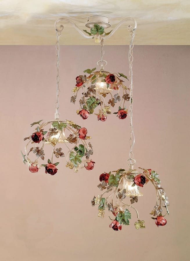 SS.6895/3, Pendant lamp made by hand