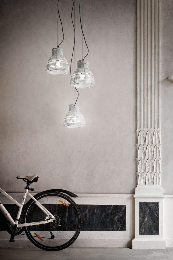 Tuli, Braided iron wire suspension lamp