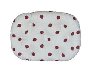 Coccinella, Nice cushion for pet beds, with drawings of insects