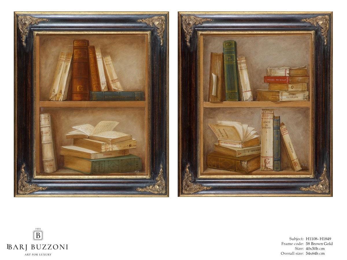 Epic Books – H 1108, Oil painting on canvas