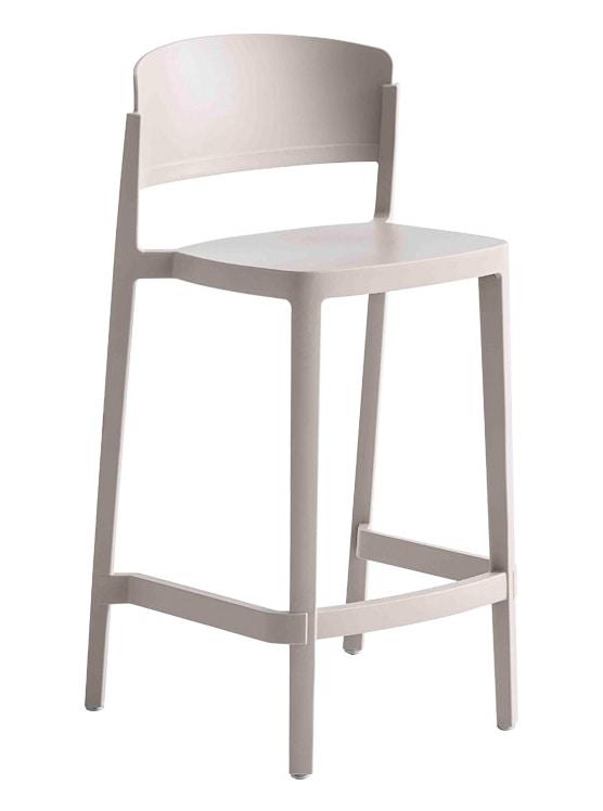 Abuela Stool, Stackable technopolymer stool
