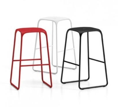 Bobo Stool, Backless stool, steel structure