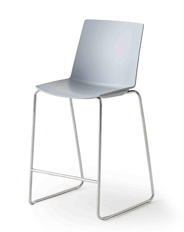 Jubel Stool, Stackable outdoor stool