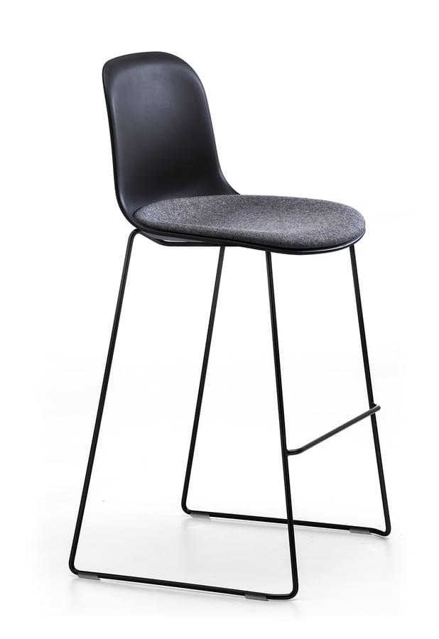 Máni Plastic ST-SL, Stackable polypropylene stool