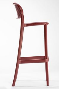 Nuta SG 68/78, Stool made of technopolymer, stackable