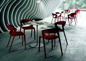 3058 Kikka one, Fiberglass reinforced polypropylene chair