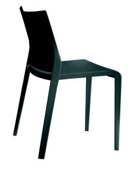 388 Riga, Polypropylene chair, stackable