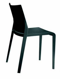 388 Riga, Polypropylene chair, stackable