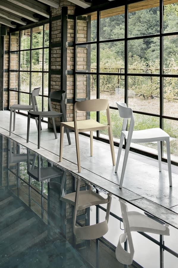 ALMERIA SE806, Plastic kitchen chair