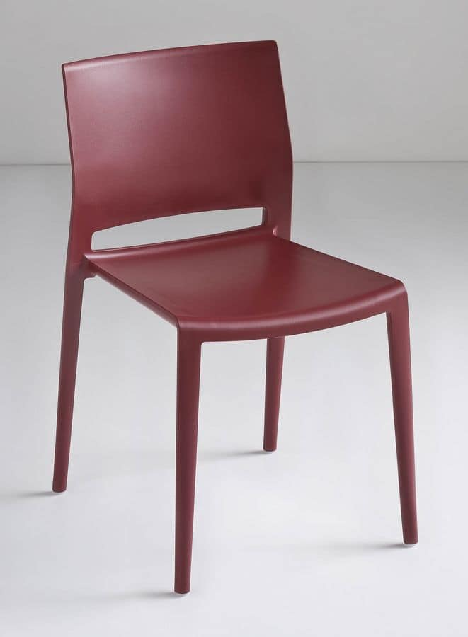 Bakhita, Polymer Design chair, rugged and durable