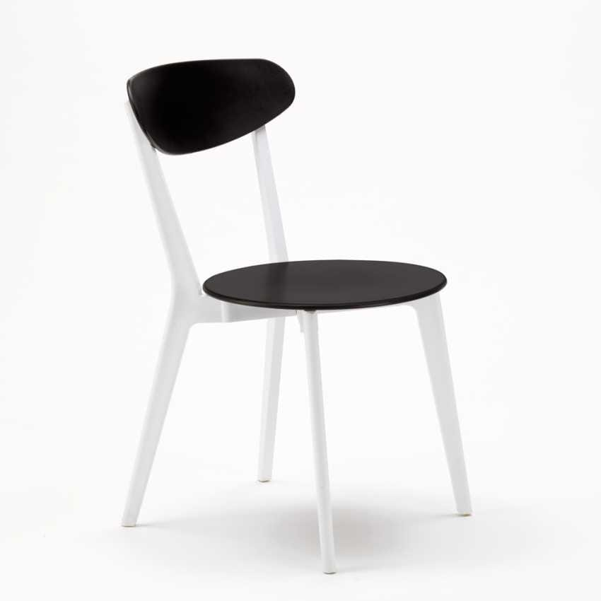 Chair kitchen bar restaurant trattoria CUISINE paesana Design - SC659PP4PZ, Stackable vintage chair
