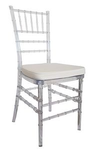 Chiavari, Polycarbonate chairs for ceremonies and banquets