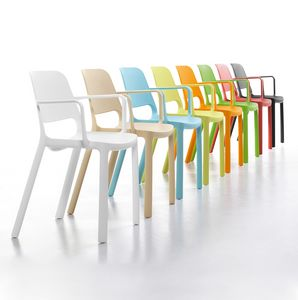 Elemens, Polypropylene chair for common areas
