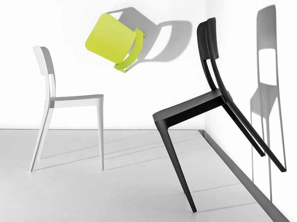 Gege, Polypropylene chair for indoor and outdoor use