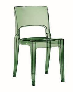 Isy, Plastic chair for bar