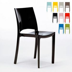 Kitchen and Bar Chairs Grand Soleil Sunshine with Modern Polypropylene Design S6215, Polypropylene kitchen chair
