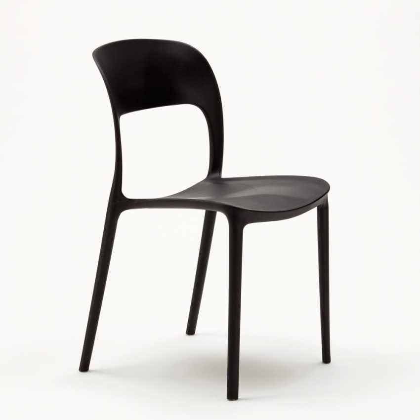 Kitchen Chair In Colored Polypropylene