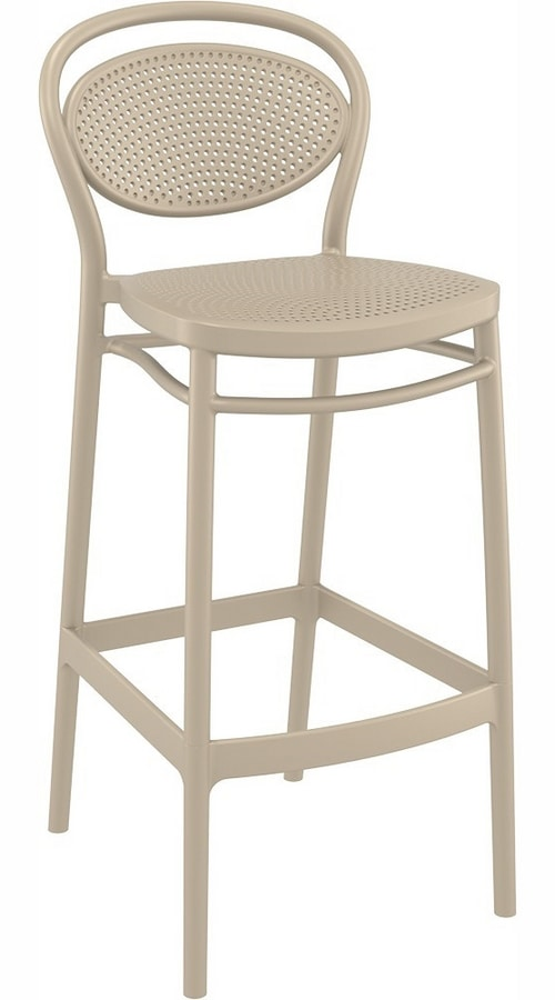 Mabel, Stackable chairs in polypropylene