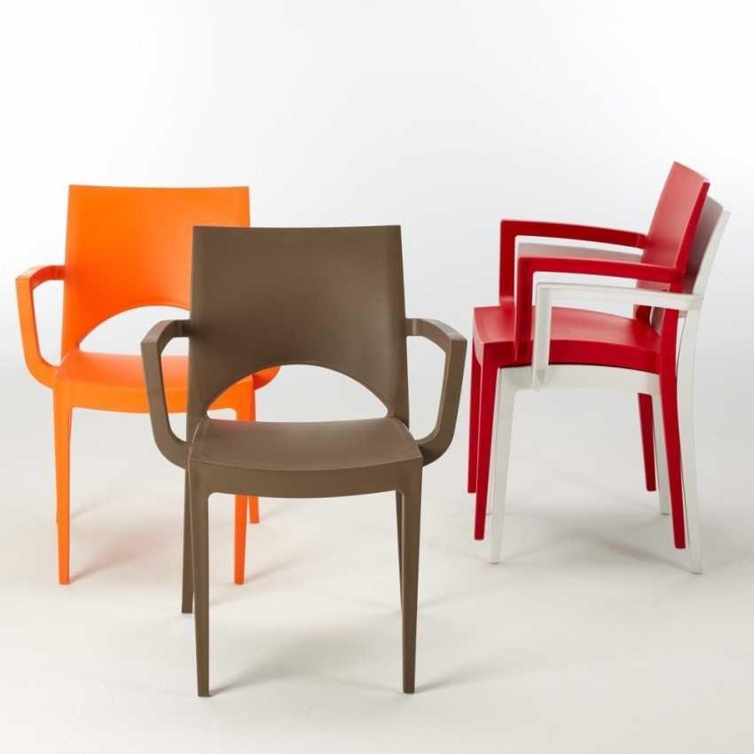 Tavoli Da Giardino In Resina Grand Soleil.Plastic Chair For Outdoor Bars And Restaurants Idfdesign