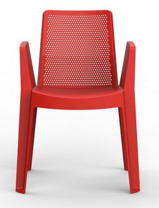 Playa, Stackable chair in polypropylene