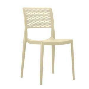 Polypropylene Bar Chairs for Kitchen and Garden Stackable CROSS - SC702PP, Stackable chair for garden