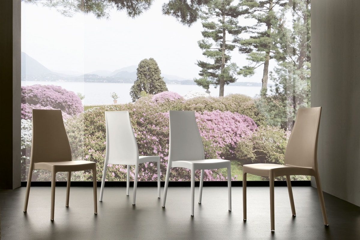 s32 nicole, Modern chair in polypropylene