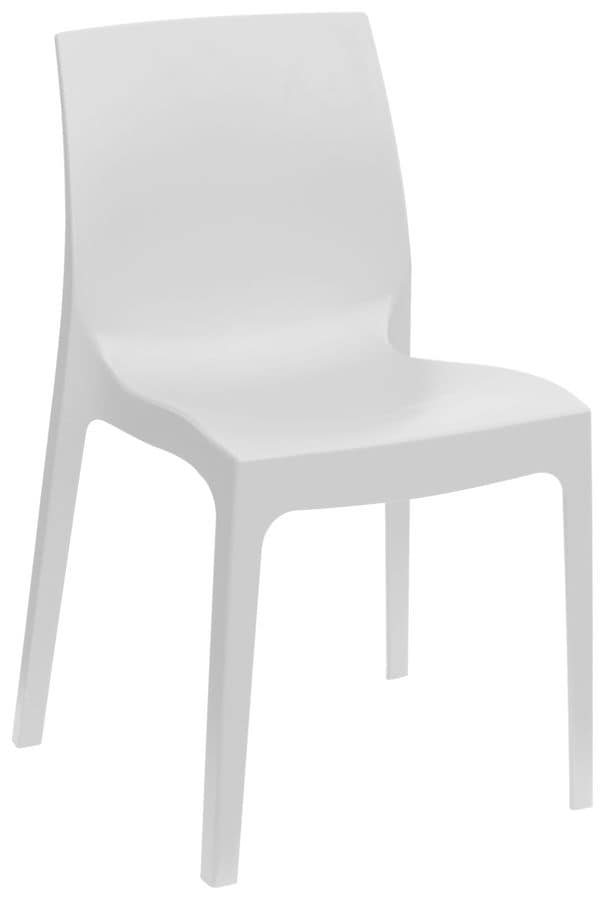 SE 6217, Polypropylene chair for bar and outdoor