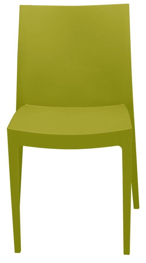SE 6224, Chair in plastic of varios colours, for outdoor and bar