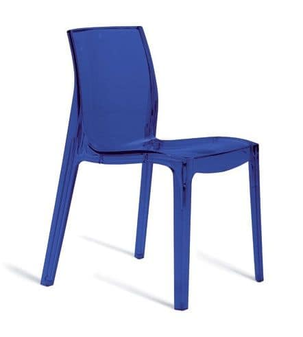 SE 6317, Plastic chair for indoors and outdoors, for restaurant