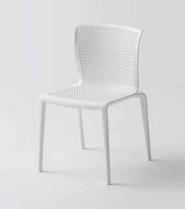 Spyker, Stackable plastic chair for bars and restaurants