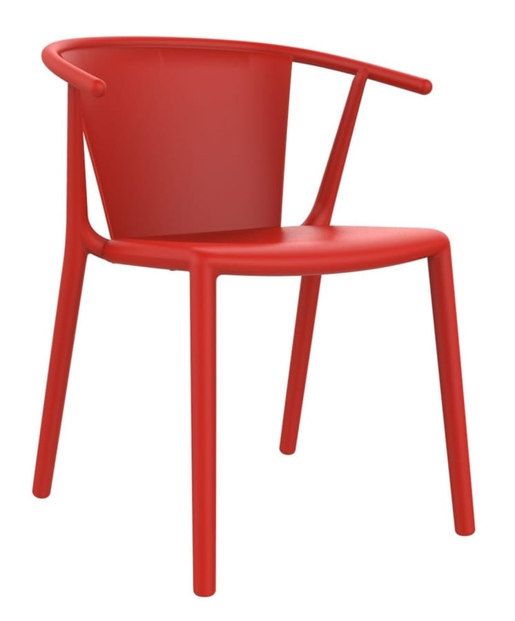 Star, Stackable chair for bars and restaurants