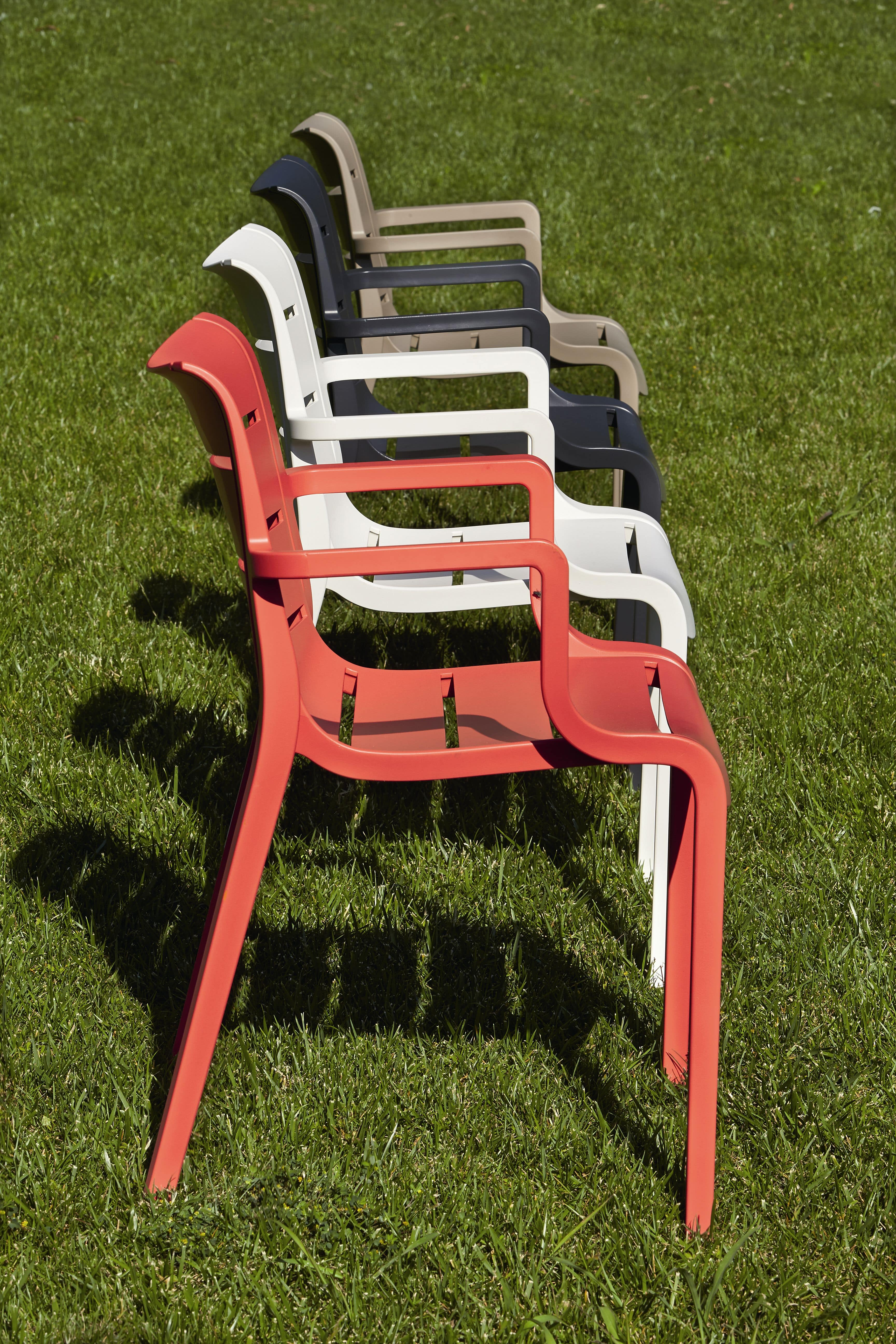 Sunset, Plastic chair, for gardens and bars