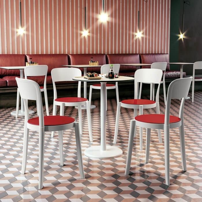Torre, Stackable polypropylene chair