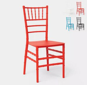 Traditional classic design chair for restaurant ceremonies and weddings Chiavarina X SC718PP, Chiavarina chair in plastic