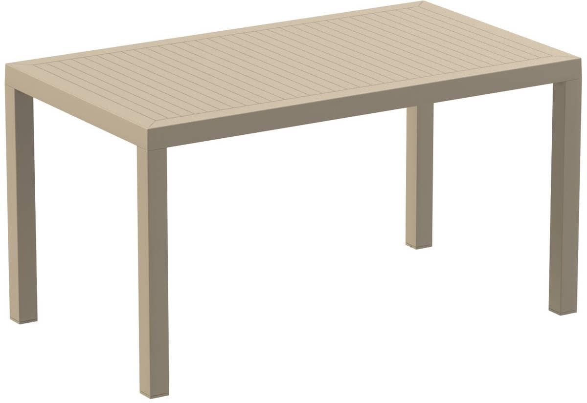 Alex 1480, Outdoor table, plastic table suitable for outdoors