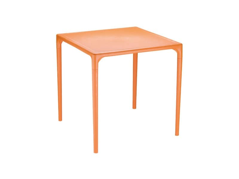 Mango, Plastic square table for gardens