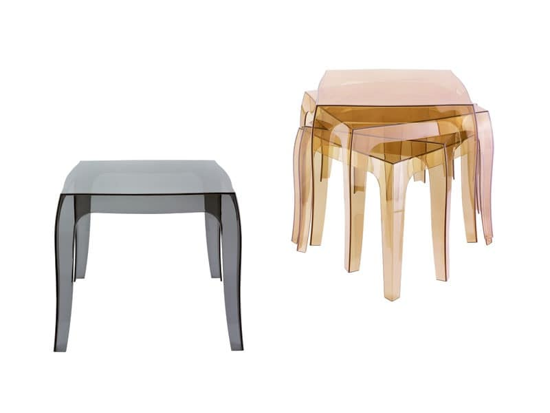 Quid, Plastic stackable table, also for outdoor use