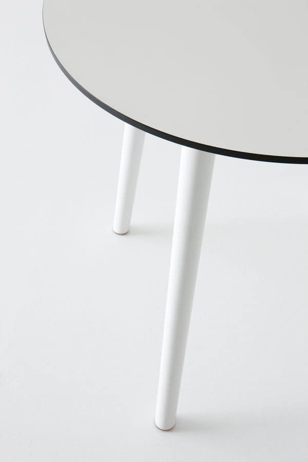 Stefano, Plastic table, for outdoors