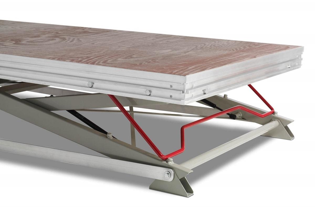 Modulare, Height-adjustable modular footplate