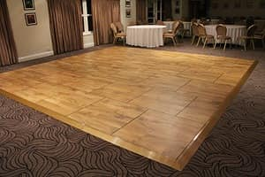 Outfloor, Removable platforms for dance, for outdoor events